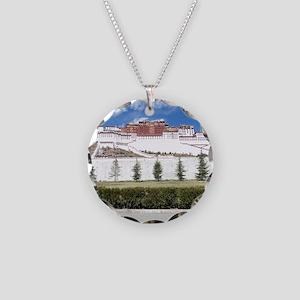 Potala Necklace Circle Charm