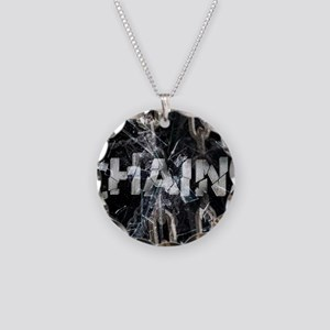 Chains Necklace Circle Charm