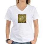 Celtic Letter S Women's V-Neck T-Shirt