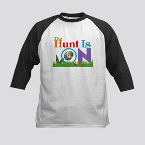 The Hunt Is On Kids Baseball Jersey