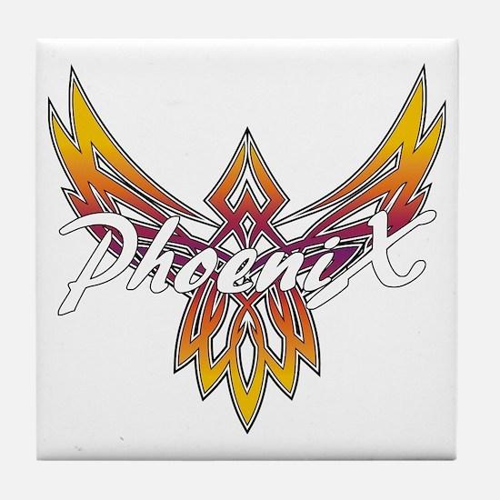 Phoenix Logo Tile Coaster