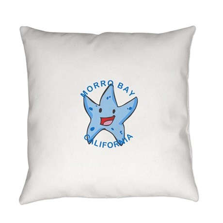California - Morro Bay Everyday Pillow