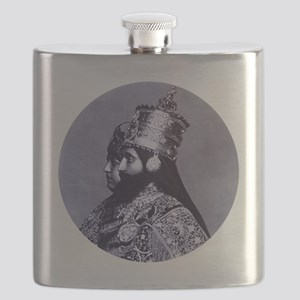 HaileSillassieandFirstLady Flask