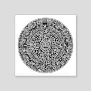 """Mayan Calendar Square Sticker 3"""" x 3"""""""