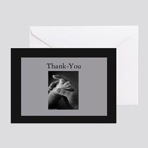 6-5-4-3-Thank you baby Greeting Cards