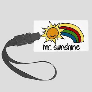 Mr. Sunshine Large Luggage Tag