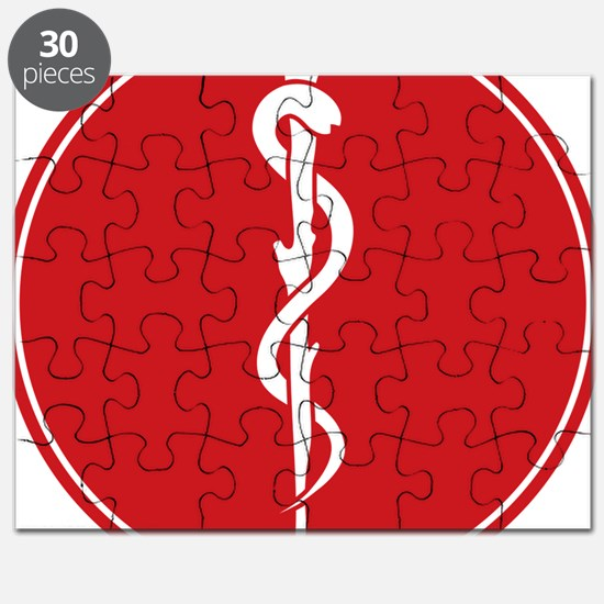 Rod of Asclepius Seal Puzzle
