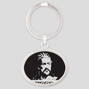 tewodros Oval Keychain