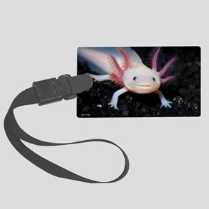 Axolotl Large Luggage Tag