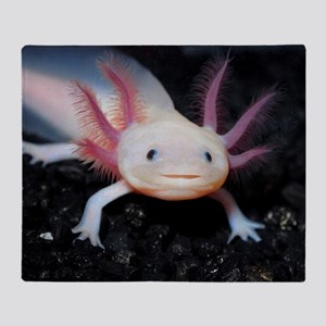 Axolotl Throw Blanket