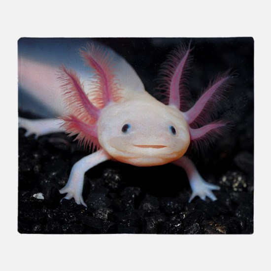 Axolotl Throw Blanket
