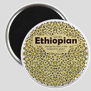Ethiopian leopard Magnet