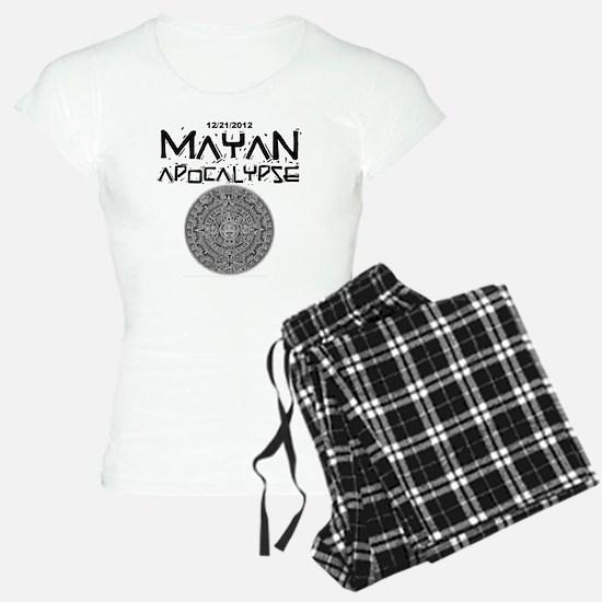 Mayan Apocalypse Calendar Pajamas
