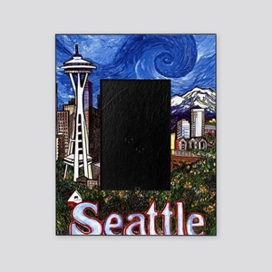 Seattle Skyline Picture Frame