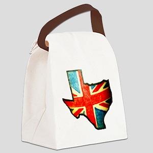 BRIT IN TX Canvas Lunch Bag