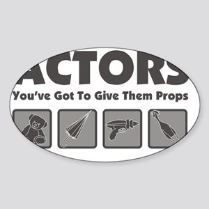 Props Sticker (Oval)
