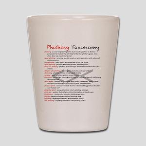 Phishing Taxonomy Shot Glass