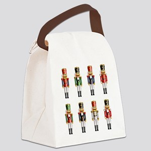 Xmas_NutCrackers Canvas Lunch Bag