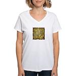 Celtic Letter P Women's V-Neck T-Shirt