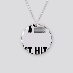 Bricklayer-ABQ1 Necklace Circle Charm