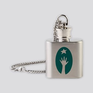 Learning Disabilities Association o Flask Necklace
