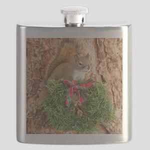 Christmas Friend Flask