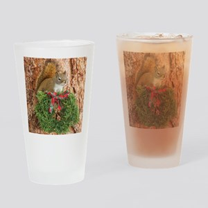 Christmas Friend Drinking Glass