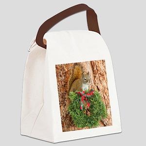 Christmas Friend Canvas Lunch Bag