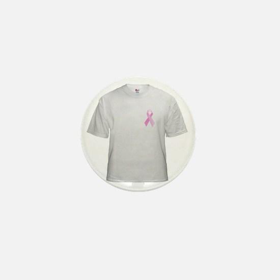 Cancer Awareness Ribbon Mini Button