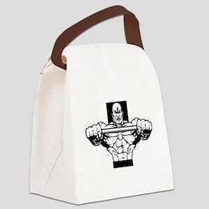 Csports Body Builder Canvas Lunch Bag