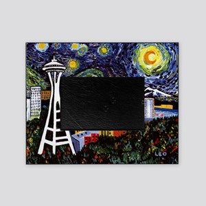 Seattle Starry Night Picture Frame