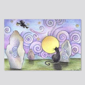 when witches fly Postcards (Package of 8)