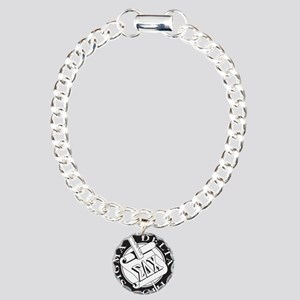 Sigma Delta Chi Charm Bracelet, One Charm