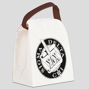 Sigma Delta Chi Canvas Lunch Bag
