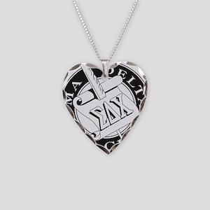 Sigma Delta Chi Necklace Heart Charm