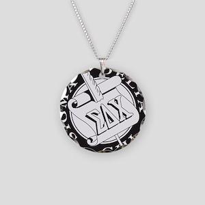 Sigma Delta Chi Necklace Circle Charm