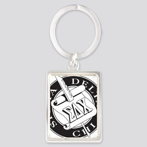 Sigma Delta Chi Portrait Keychain