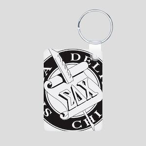 Sigma Delta Chi Aluminum Photo Keychain