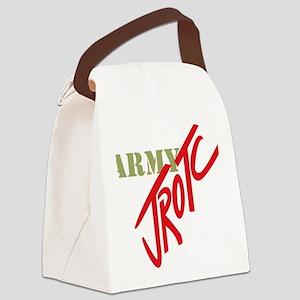Army JROTC Canvas Lunch Bag