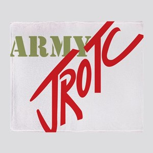 Army JROTC Throw Blanket
