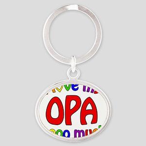 I love my OPA soooo much! Oval Keychain