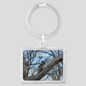 Koala Cover Landscape Keychain