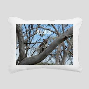 Koala Cover Rectangular Canvas Pillow