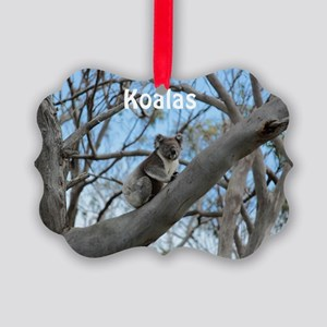 Koala Cover Picture Ornament