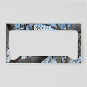 Koala Cover License Plate Holder