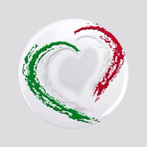 "italian heart 3.5"" Button"