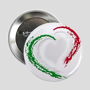 """italian heart 2.25"""" Button"""