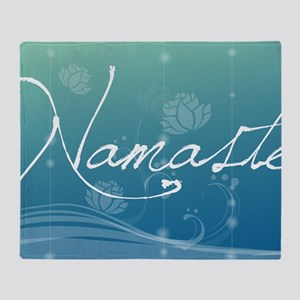 Namaste Small Serving Tray Throw Blanket