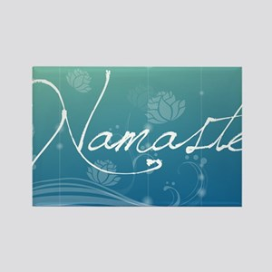 Namaste Small Serving Tray Rectangle Magnet