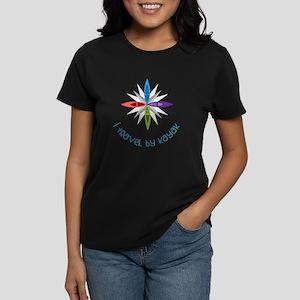 Travel By Kayak Women's Dark T-Shirt